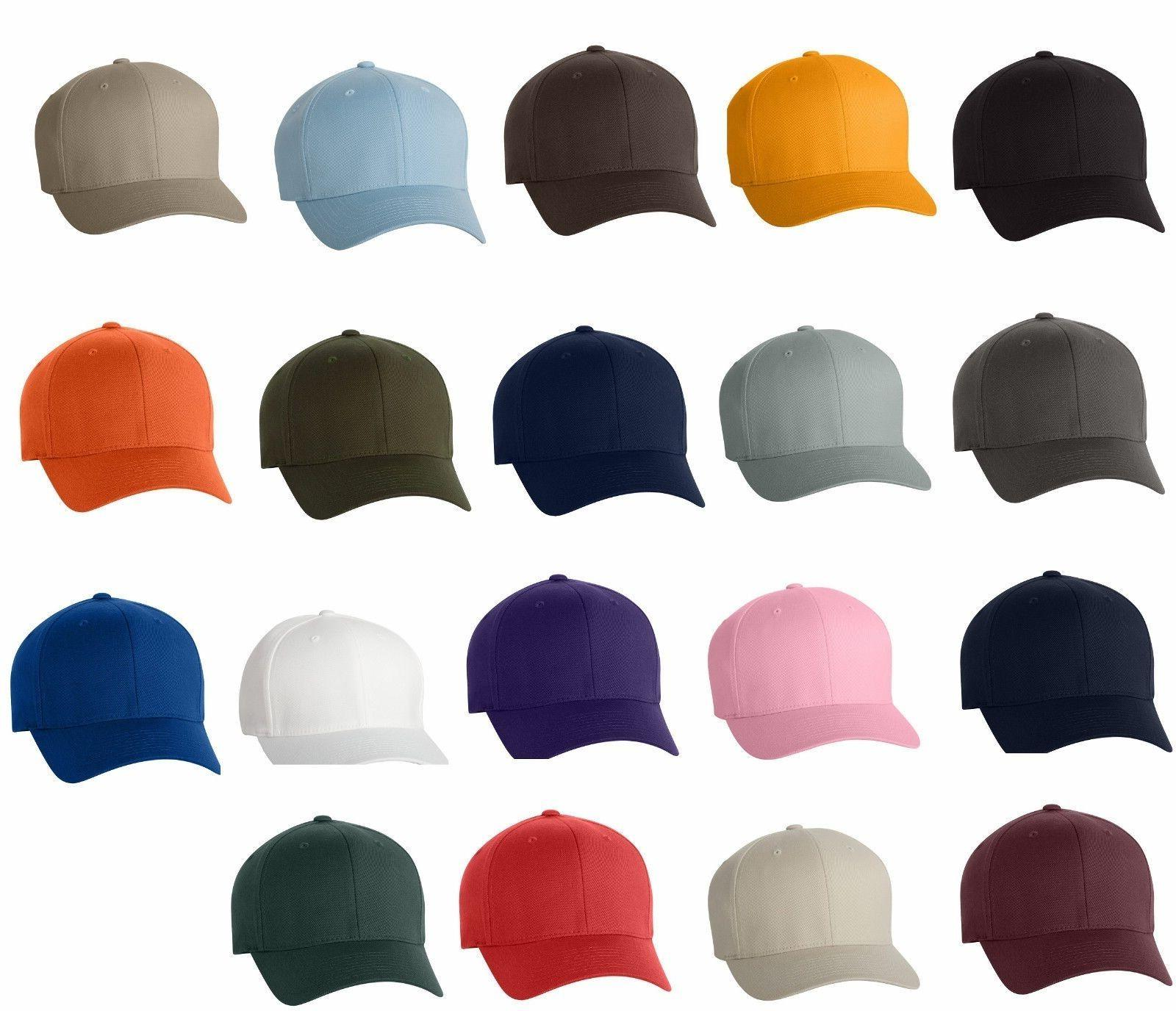 flexfit structured twill hat fitted size s