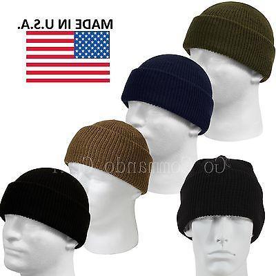genuine military 100 percent wool watch cap