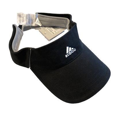 Adidas Golf Ladies Women's Performance Visor - Black/White -