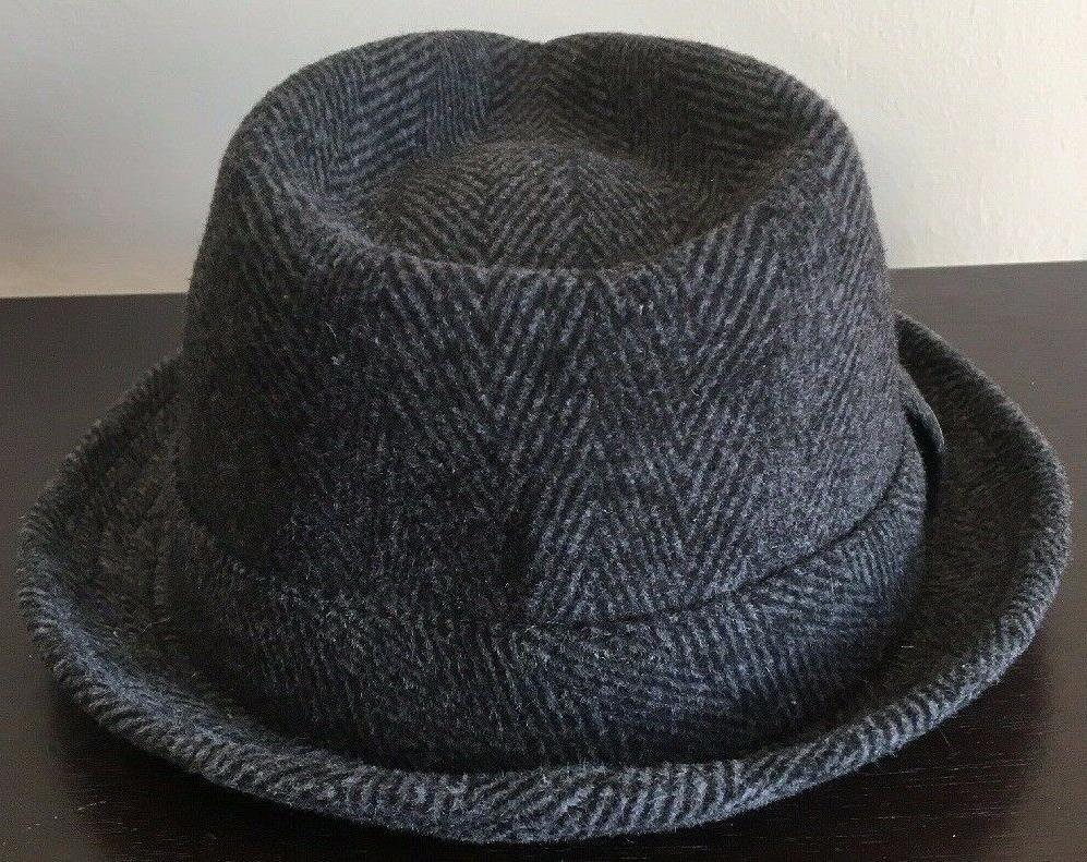 Epoch Hats Wool Medium Herringbone Fedora