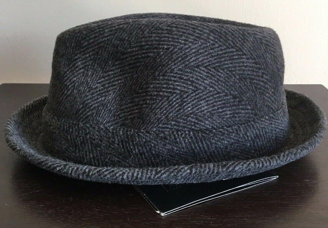 Epoch Hats 100% Wool Herringbone Fedora