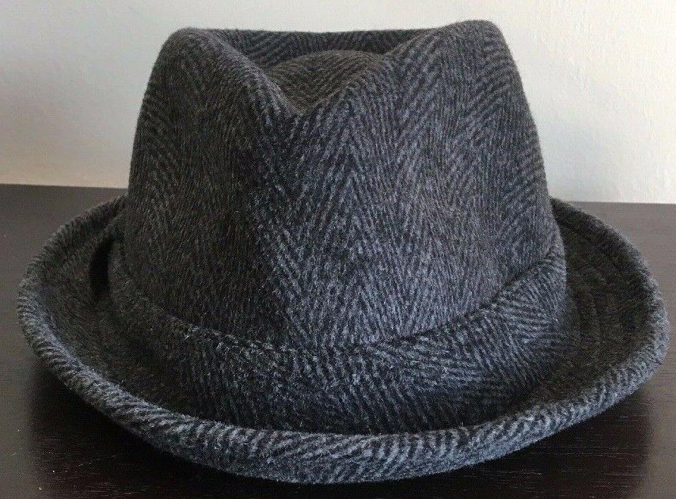 Epoch 100% Wool Herringbone Fedora