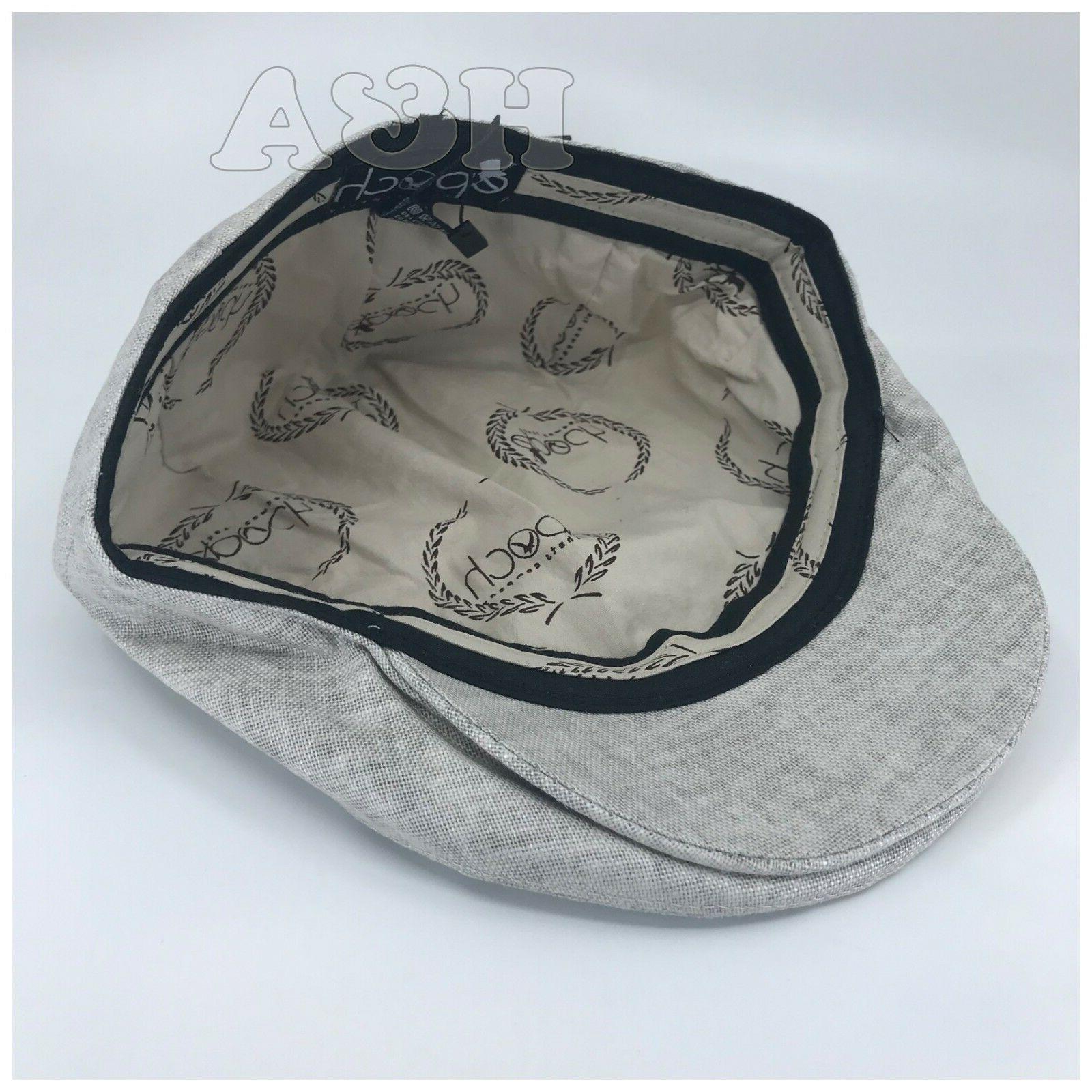 Epoch hats Linen Flat Ivy Gatsby Newsboy Cap Hat Lt