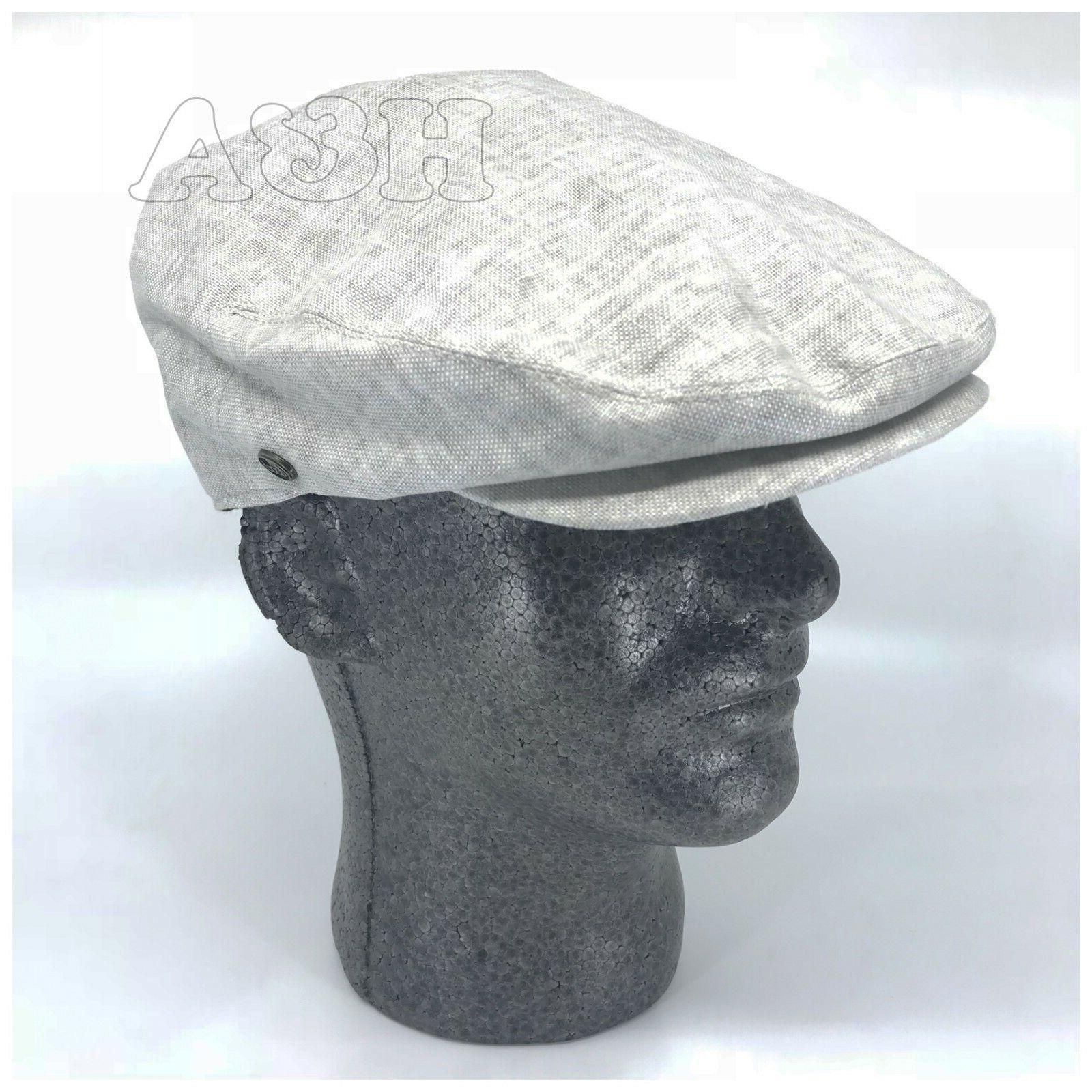 hats men s linen flat ivy gatsby