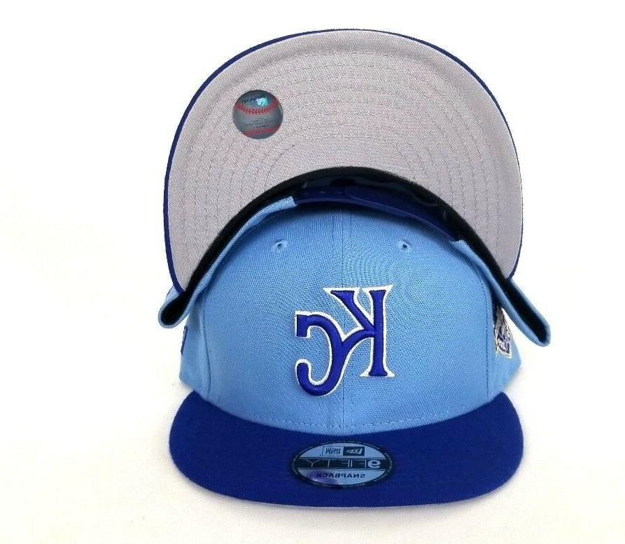 New Era Royals Blue Snapback Hat KC
