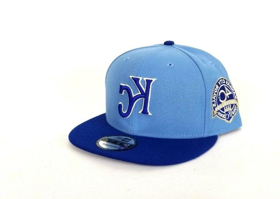 New Royals Blue Snapback Hat