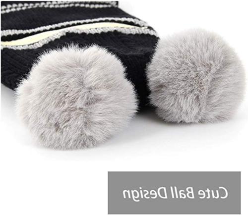 Kid Hats Knitted Fleece Boys