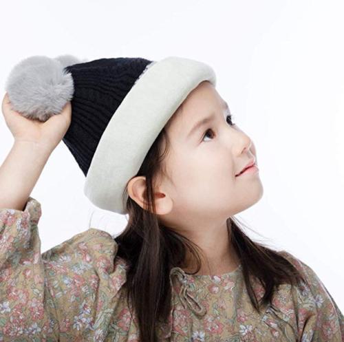 Kid Hats Knitted Fleece for Boys