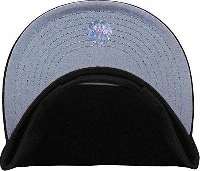 KNW 1467 BLK Snapback Baseball Hat Mens