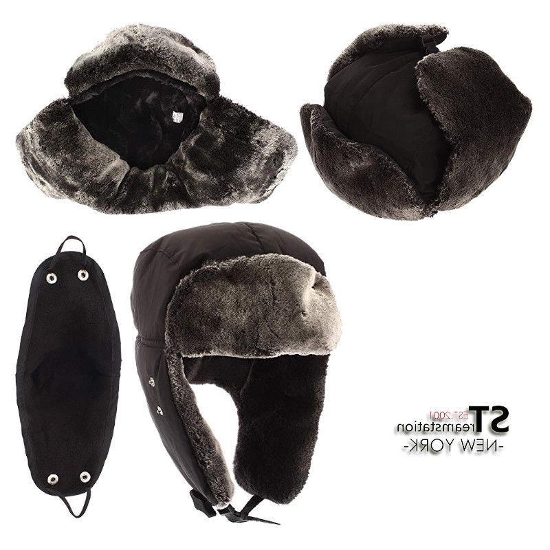L&M Winter Hat Trapper Aviator Trooper Earflap Ski W/Mask LFM