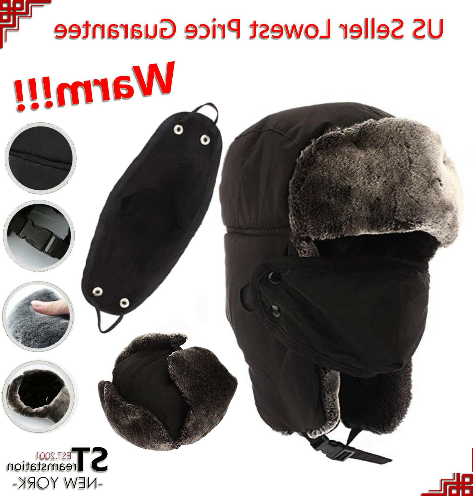 l and m mens winter hat trapper