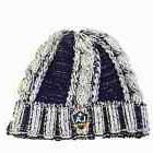 LA Galaxy MLS Adidas Blue and White WOMENS Cuffed Acrylic Kn