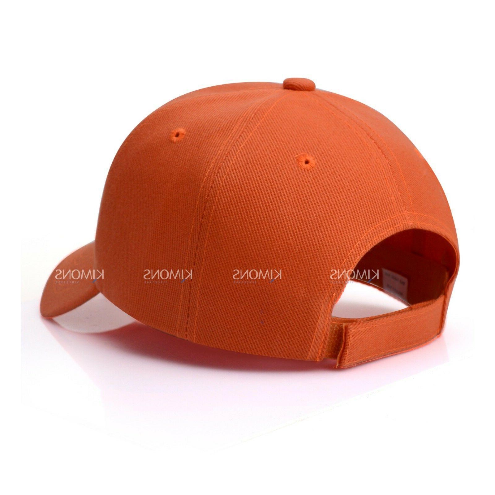 Loop Solid Color Curved Visor Hat Adjustable Army Mens