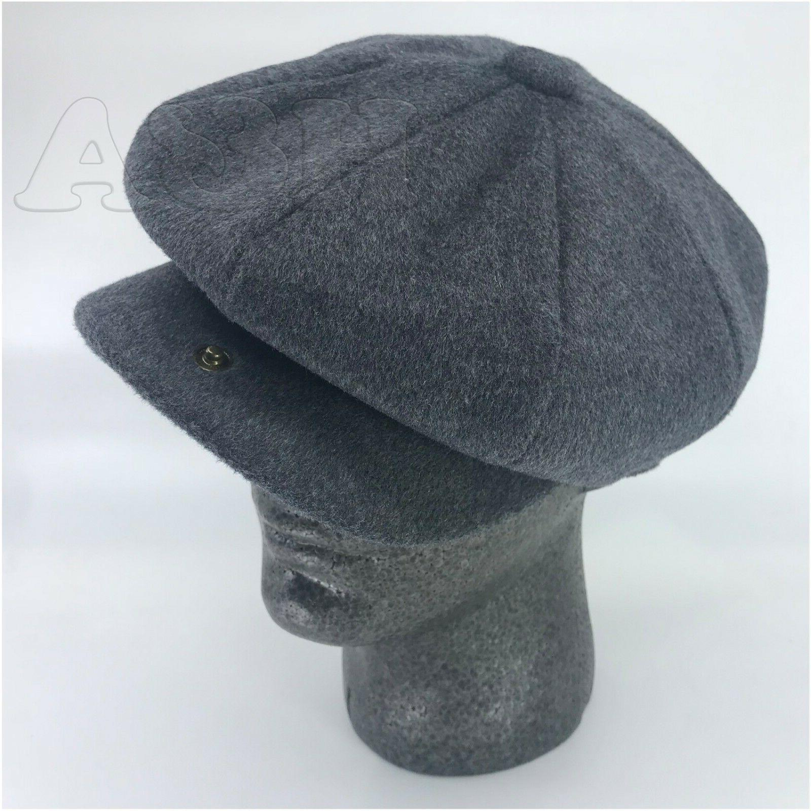 Men's 8Panel Newsboy Applejack Cabbie Hat