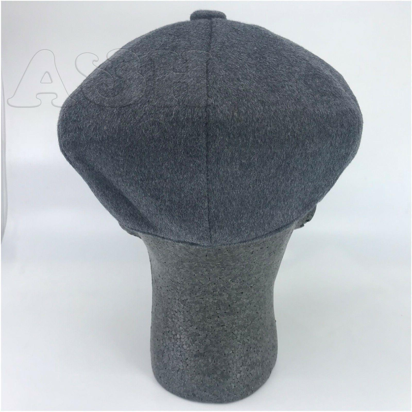 Men's Newsboy Applejack Hat Gray