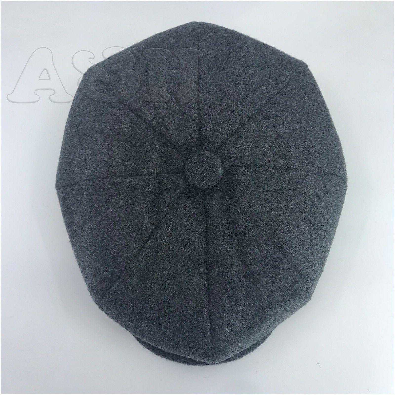 Men's 8Panel Premium Newsboy Applejack Paperboy Hat NSB3049