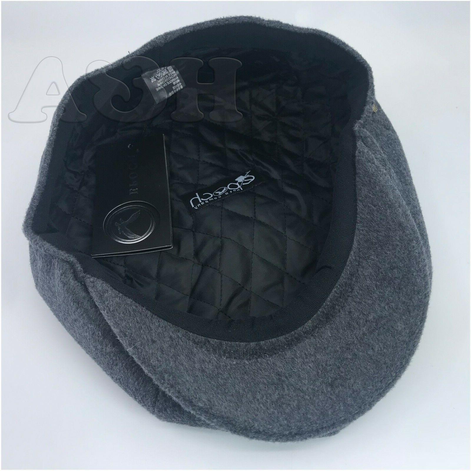 Men's Premium Wool Newsboy Paperboy Hat Cap