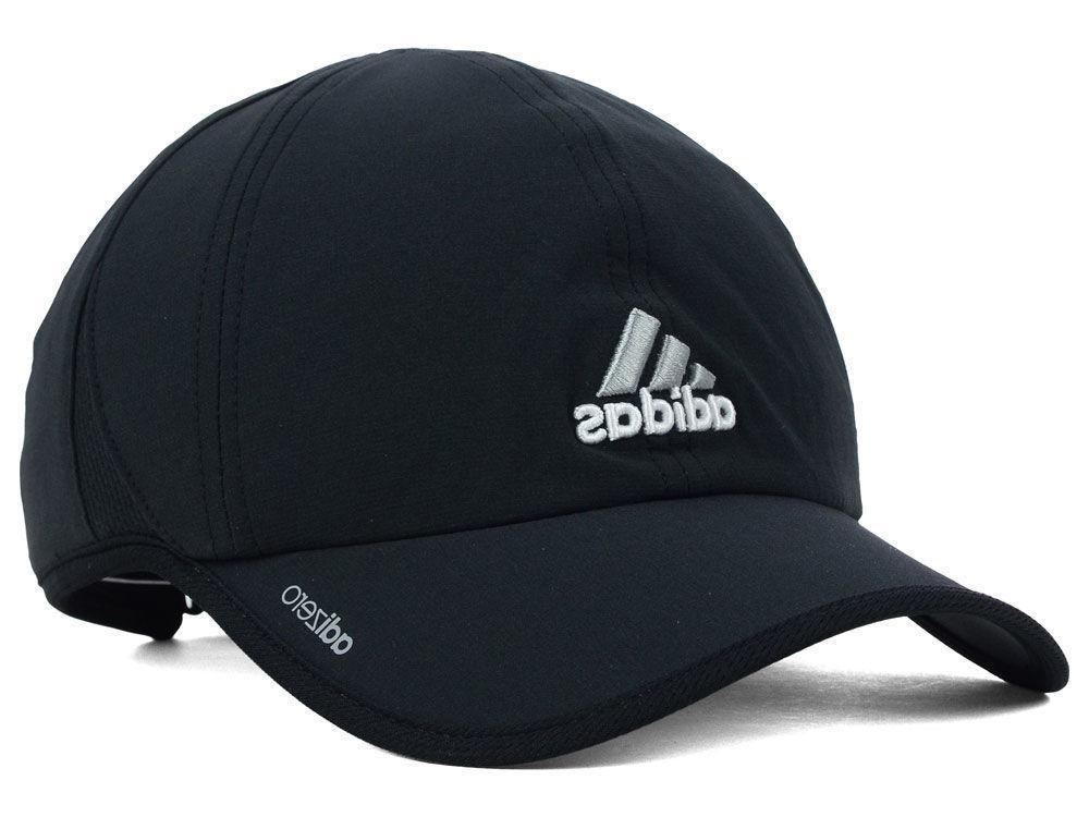 Adidas Men's Adizero II Cap / Hat Adjustable Strapback Black White Running