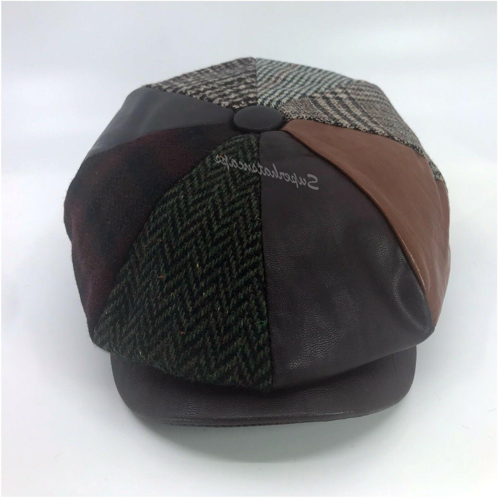 Men's Cabbie Apple Jack Ascot Hat