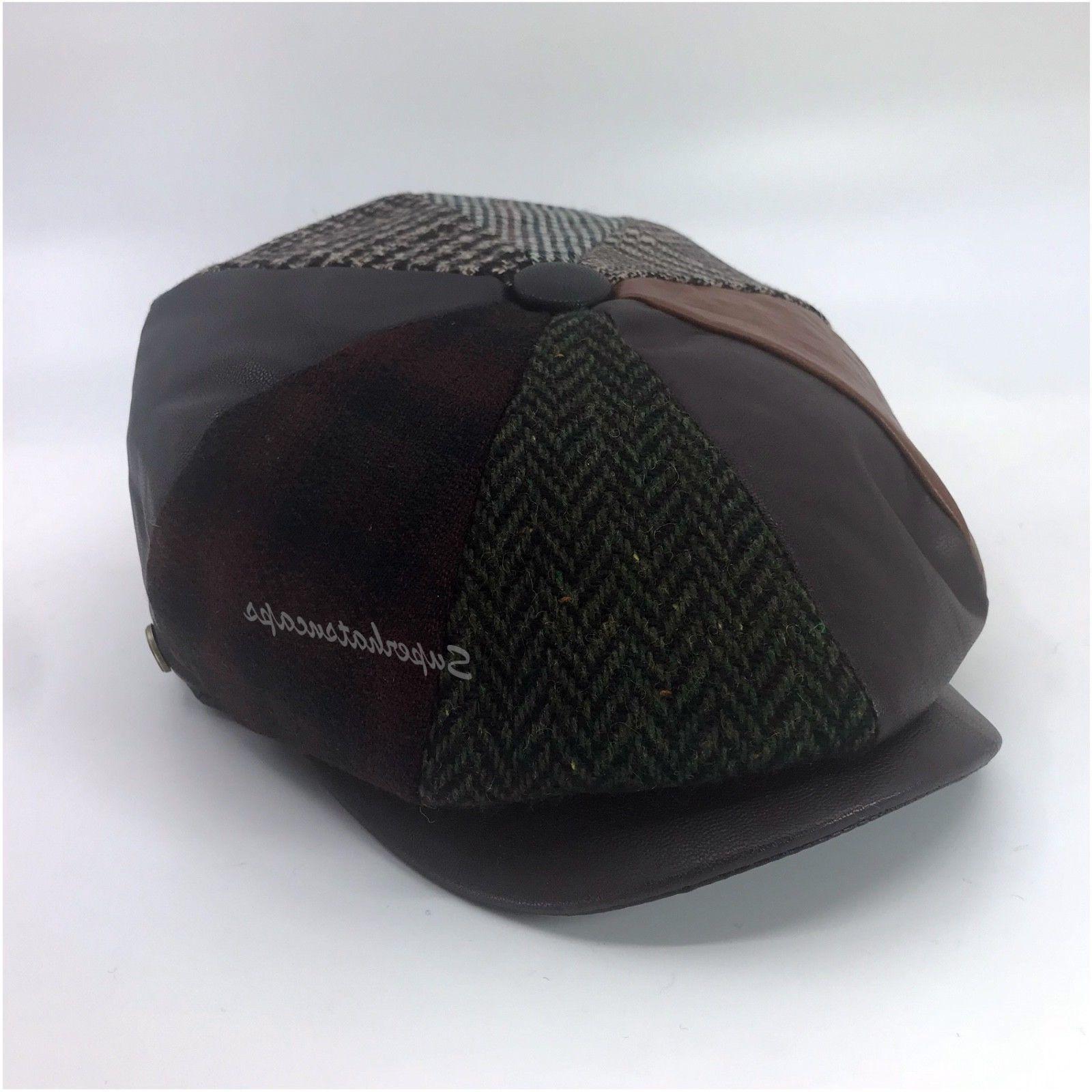 Men's Wool Button Ivy Hat