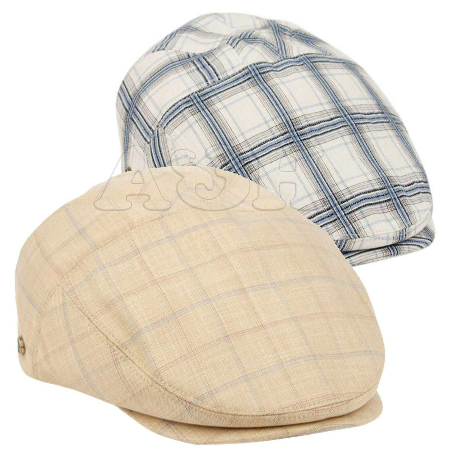 men s cotton flat ivy caps summer
