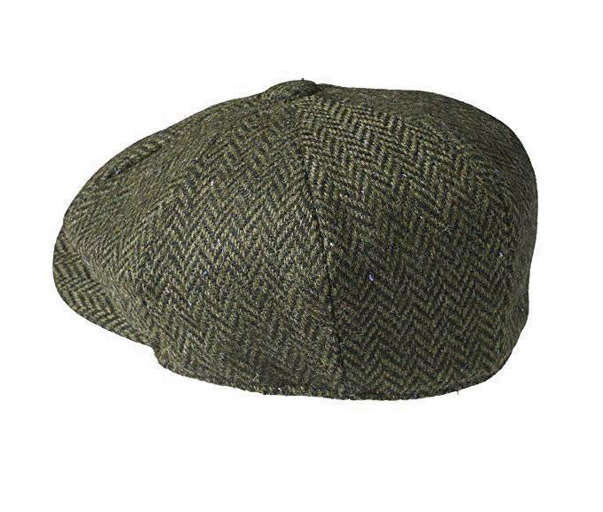 Men's Tweed 8 Panel Hat NS2746
