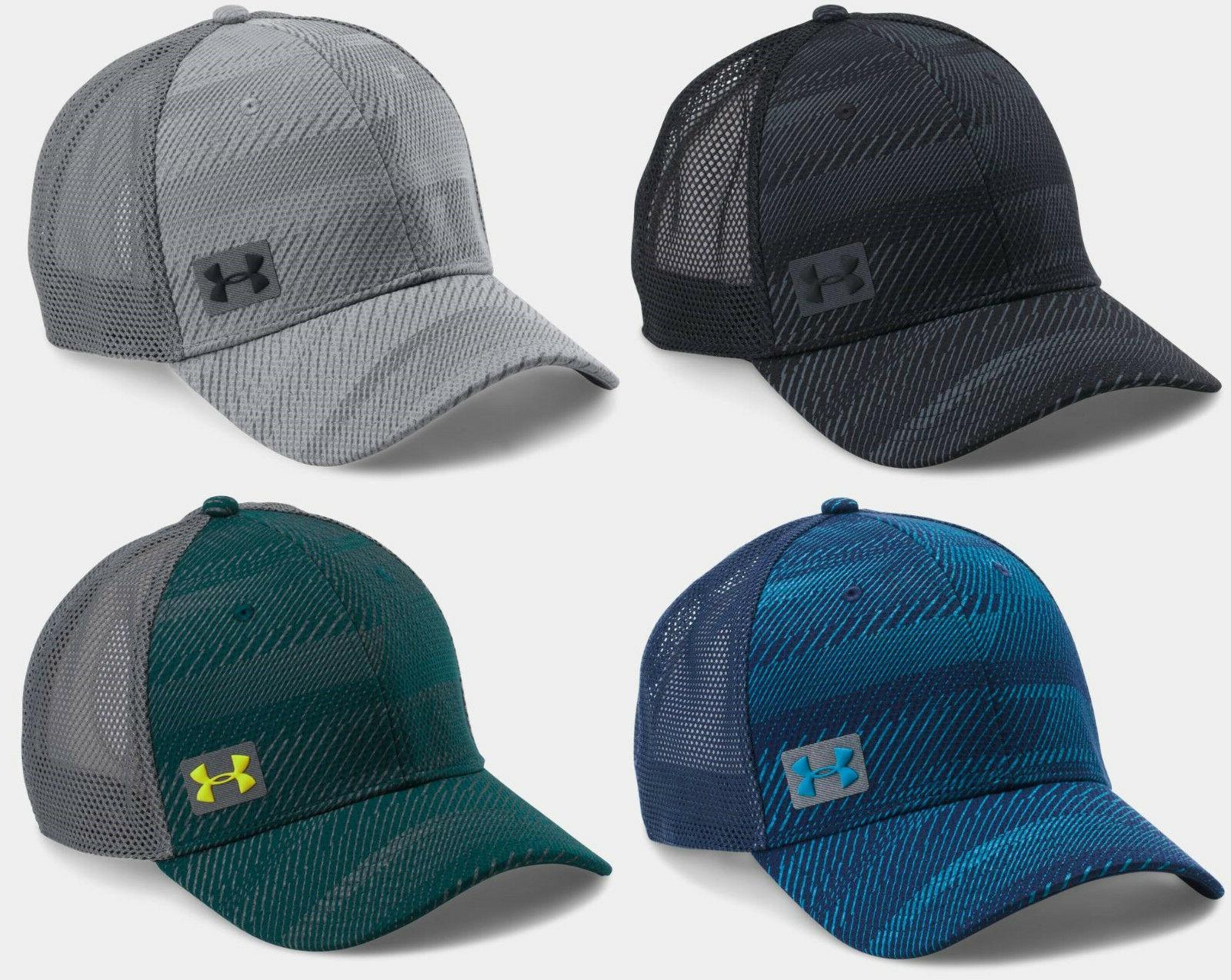 Under Armour Men's UA Blitz Trucker Mesh Back Hat Snapback C