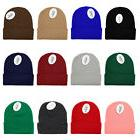 Falari Unisex Beanie Hat Cap Knitted Warm Solid Color Great