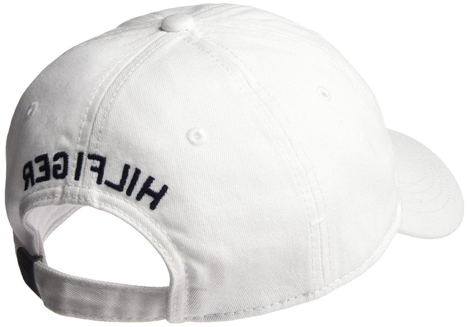 Tommy Hilfiger Dad Baseball Classic White