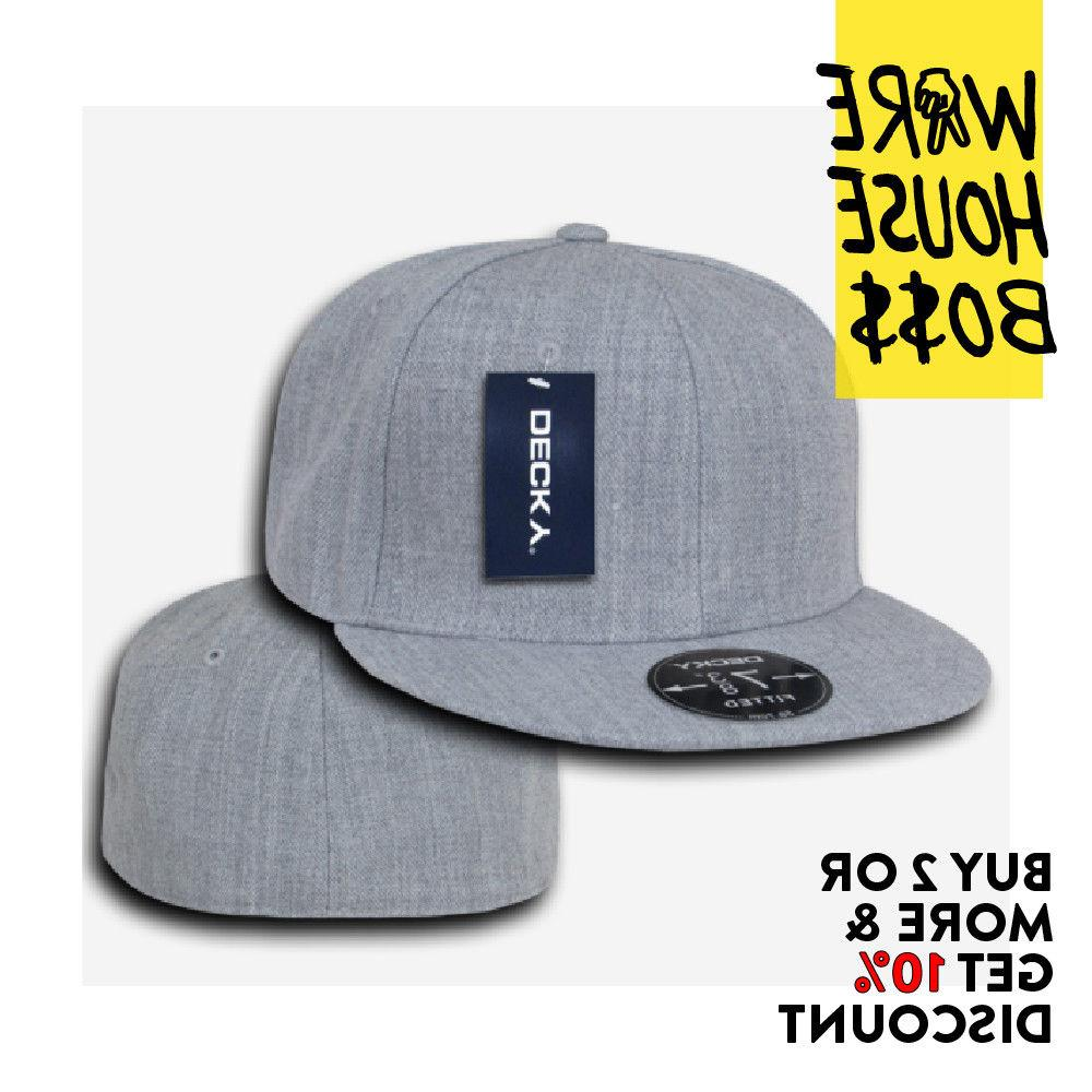 DECKY PLAIN FITTED CAPS RETRO CASUAL
