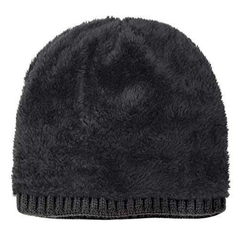 Loritta Winter Warm Knitting Hats Wool Slouchy Beanie Hat Skull Cap