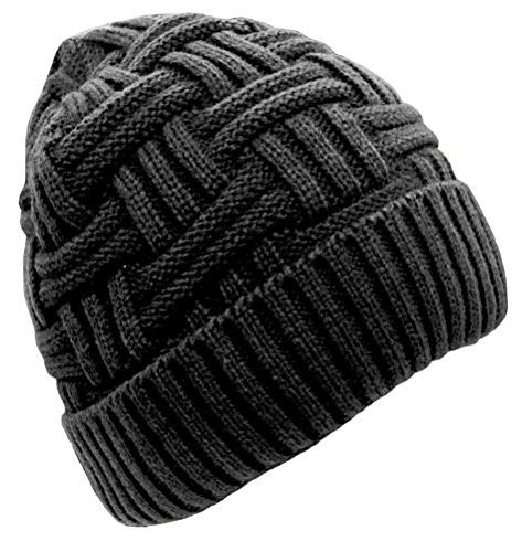 mens winter warm knitting hats wool baggy