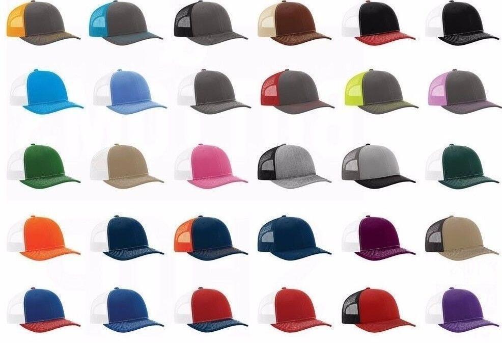 New 112 Richardson Trucker Baseball Cap Meshback Hat Snapbac
