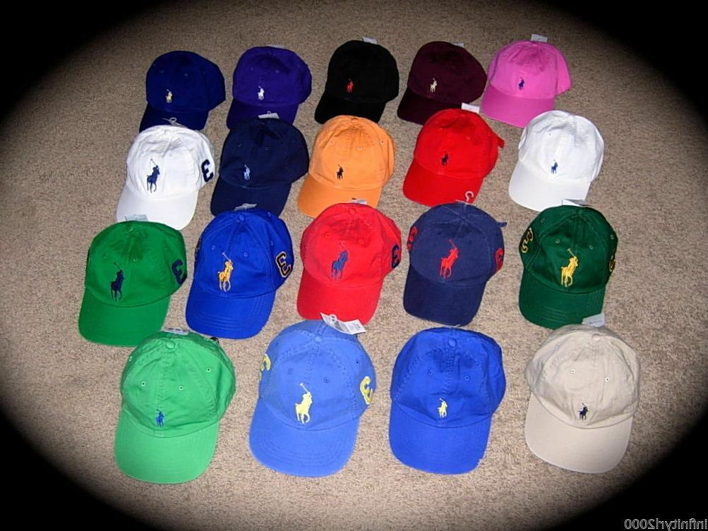 NEW Polo Ralph Lauren Baseball Cap Hat Big Pony Adjustable S