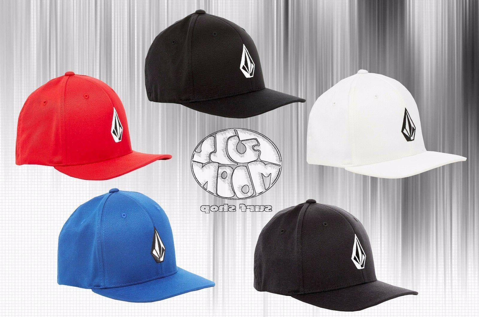 New Volcom Full Stone Mens XFit Flex Fit Cap Hat