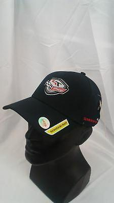 New TaylorMade Golf Tour Preferred Adjustable Hat Black 100%