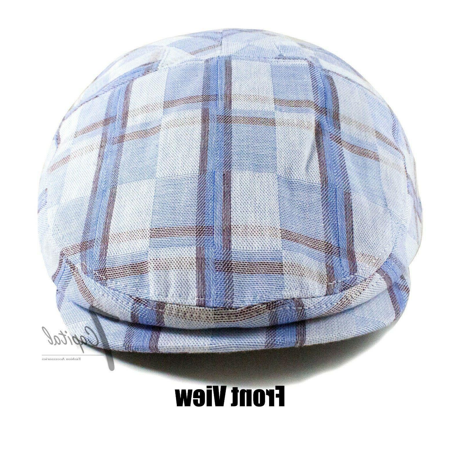 NEW Men's Slim 100% Flat Ivy Sun Hat