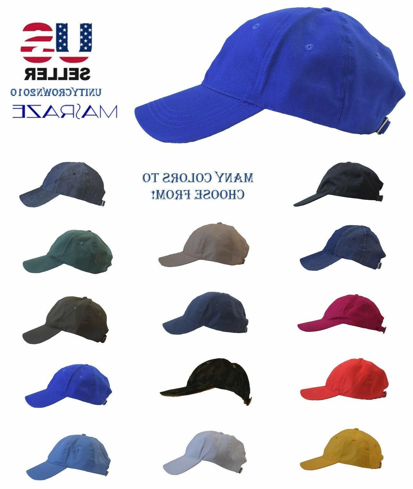 Masraze New Solid Cotton Ball Men/Women Hat Hats
