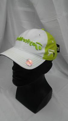 New Women's TaylorMade Golf 2013 FP Patch LPGA Adjustable Ha