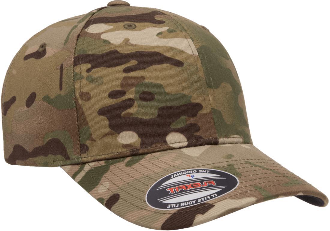 New Flexfit® BallCap Curved Panels Hat