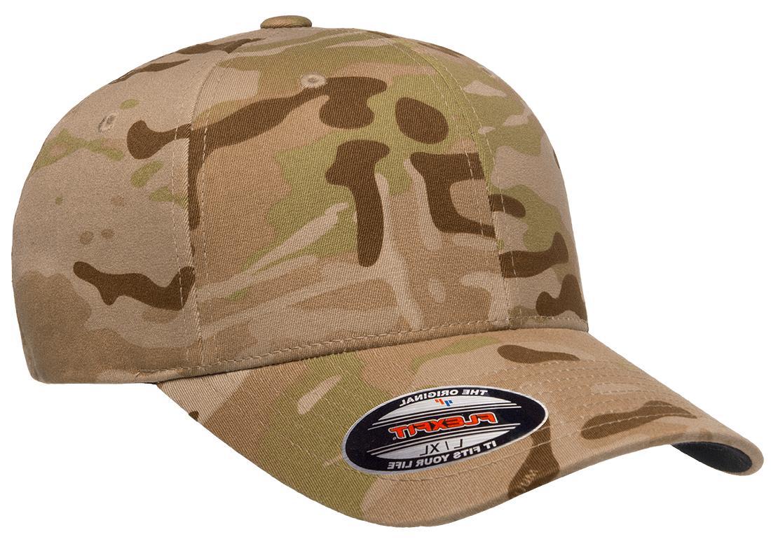 New Flexfit® Wooly Combed BallCap Panels Hat