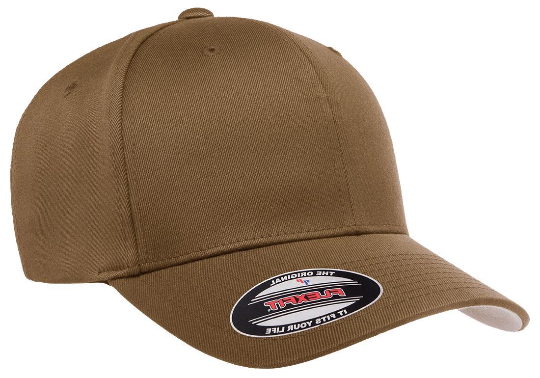 New Flexfit® Wooly BallCap Panels Baseball Hat