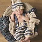 Newborn Baby Girls Boys Photo Photography Prop Crochet Knit
