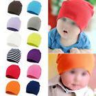 Newborn Baby Unisex Toddler Boys Girls Beanie Hat Soft Fabri