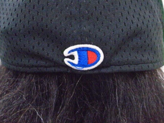 NWT Champion Stretch Fit/Flat Bill Hat L/XL Black