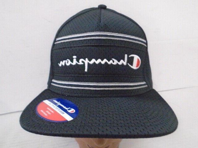 NWT Stretch Fit/Flat Hat L/XL Black