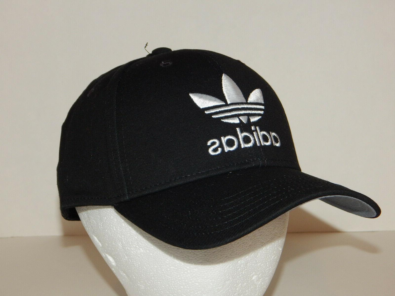 Adidas Originals Trefoil Icon Hat / Cap Snapback Black Precu