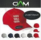 Personalized Custom made Flexfit Delta hat cap Custom Embroi