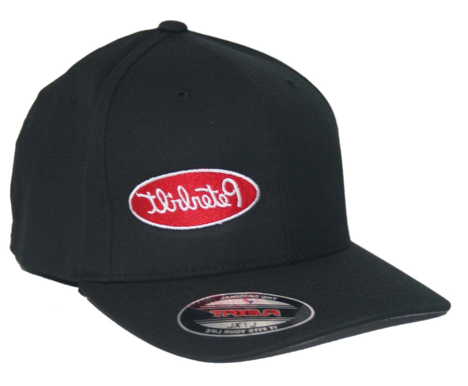 Peterbilt hat cap fitted flexfit curved bill Trucker Truck R