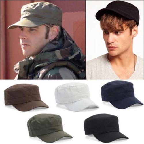 Plain Military Army Castro Cadet Patrol Hats Men Women Golf